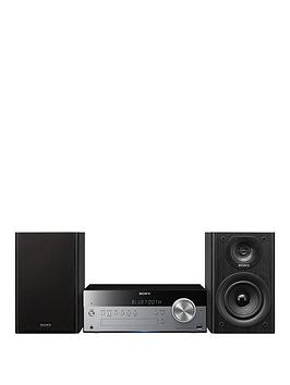 Sony Cmt-Sbt100B Micro Hi-Fi System With Nfc - Silver/Black
