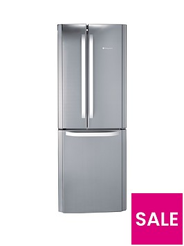 hotpoint-day-1-ffu3dx-american-style-70cm-frost-free-fridge-freezer-stainless-steelbr-a-energy-rating