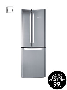 hotpoint-day-1-ffu3dx-american-style-70cm-frost-free-fridge-freezernbspa-energy-rating-stainless-steel