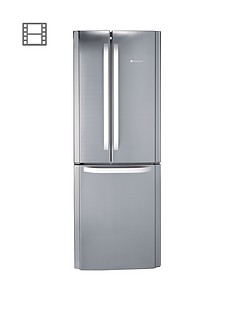 Hotpoint Day 1 FFU3DX American Style 70cm Frost Free Fridge FreezerA+ Energy Rating - Stainless Steel