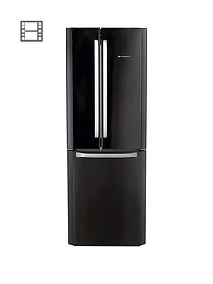 Hotpoint Day 1 FFU3DK American Style,70cmWide, Frost-Free Fridge FreezerA+ Energy Rating - Black