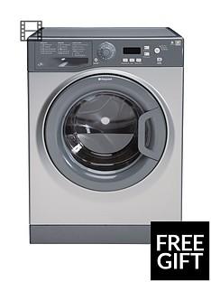 Hotpoint Extra WMXTF842G 8kg Load, 1400 Spin Washing Machine - Graphite
