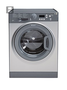 Hotpoint Extra WMXTF842G 8kg Load, 1400 Spin Washing Machine - Graphite