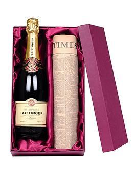 taittinger-champagne-personalised-newspaper