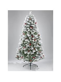 bavarian-pine-christmas-tree-with-snow-7ft