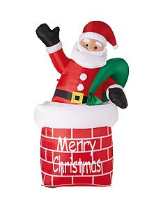 outdoor-inflatable-light-up-santa-in-chimney