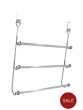sabichi-chrome-plated-over-door-3-tier-towel-rail