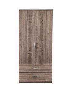 portland-2-door-2-drawer-wardrobe
