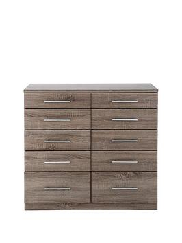 Cologne 5 + 5 Chest Of Drawers