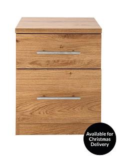Cologne 2-Drawer Bedside Cabinet
