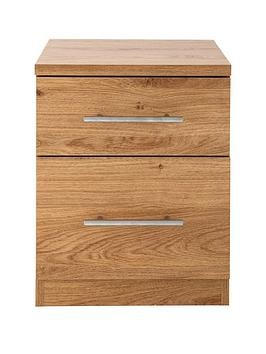 Cologne 2-Drawer Bedside Cabinet