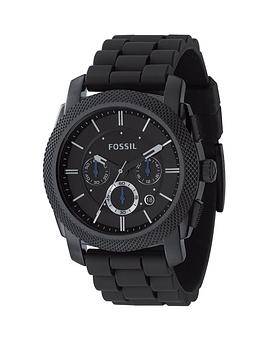 fossil-mens-chronograph-silicone-strap-watch-from-the-machine-range