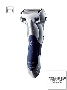 Panasonic Milano ES-SL41 3-Blade Cordless Shaver with Arc Foil - Silver