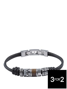 fossil-mens-leather-bracelet-stainless-steel-roundels-and-adjustable-closure