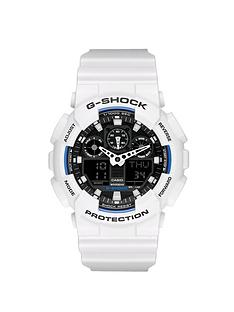 casio-black-dial-and-white-case-mens-watch