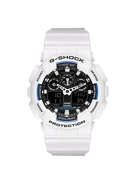casio-g-shock-black-dial-and-white-case-mens-watch