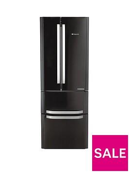 hotpoint-day-1-ffu4dk-american-stylenbsp70cmnbspwide-frost-free-fridge-freezer-blackbr-anbspenergy-rating