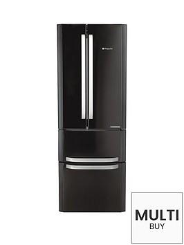hotpoint-ffu4dk-american-style-70cm-frost-free-fridge-freezer-black