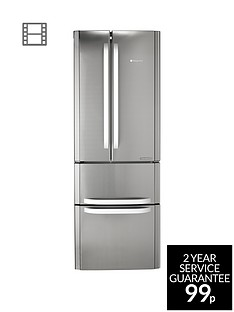 hotpoint-day-1nbspffu4dx-american-style-70cm-frost-free-fridge-freezer-a-energy-rating-stainless-steel