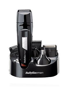 BaByliss For Men 7056CU 8-in-1 All Over Grooming Kit Best Price, Cheapest Prices