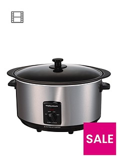 Morphy Richards 48705 6.5-litre Sear and Stew Slow Cooker