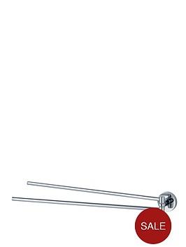 aqualux-haceka-kosmos-adjustable-chrome-towel-rail