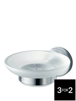 aqualux-haceka-kosmos-glass-soap-holder
