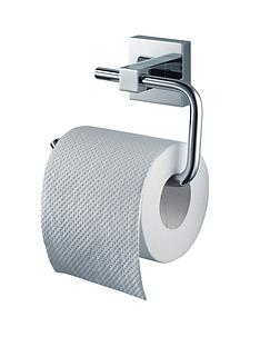 aqualux haceka mezzo chrome toilet roll holder