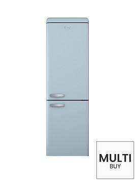 swan-sr11020bln-60cmnbspretro-fridge-freezer-blue