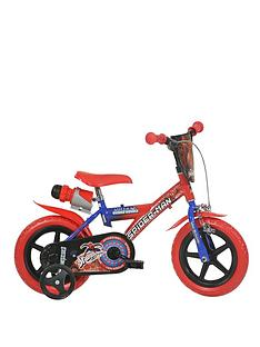 Spiderman Ultimate 12 inch Dino Bike