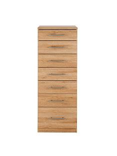 195f89a3371 Prague Graduated Narrow Chest of 7 Drawers