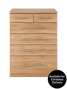 New Prague 4 + 2 Graduated Chest of Drawers
