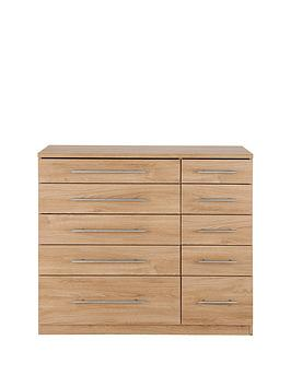 Prague 5 + 5 Graduated Chest Of Drawers