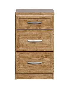 oslo-3-drawer-graduated-bedside-cabinet