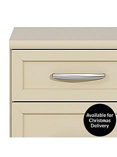 Oslo 3-Drawer Graduated Bedside Cabinet
