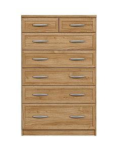 Oslo 5 + 2 Graduated Chest of Drawers