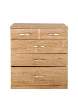 Peru 3 + 2 Graduated Chest Of Drawers