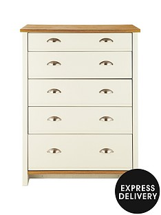 consort-tivoli-ready-assembled-graduated-chest-of-5-drawers-5-day-express-delivery