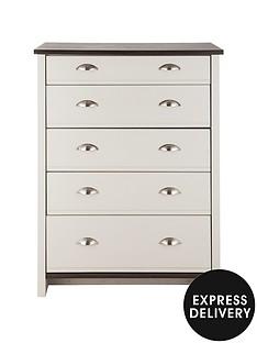 consort-tivoli-ready-assembled-graduated-chest-of-5-drawers