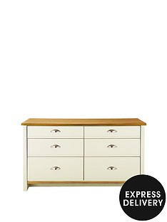 consort-tivoli-ready-assembled-graduated-3-3-chest-of-drawers-10-day-express-delivery