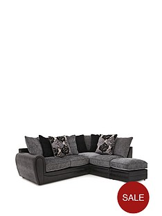 monico-floral-right-hand-single-arm-corner-chaise-sofa-with-footstool