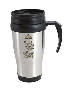 personalised-keep-calm-travel-mug