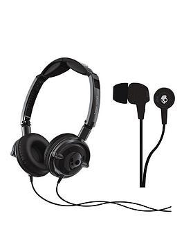 skullcandy-lowrider-headphones-with-free-in-ear-headphones-black