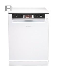 Hotpoint Ultima FDUD43133P 14-Place Dishwasher - White