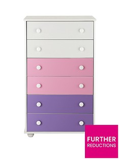 Kidspace New Metro Chest of 6 Drawers