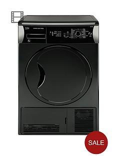 beko-dcu7230b-7kg-sensor-condenser-dryer-next-day-delivery-black