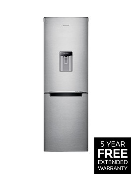 samsung-rb29fwrndsaeu-60cm-frost-free-fridge-freezer-with-digital-inverter-technology-next-day-delivery-silver