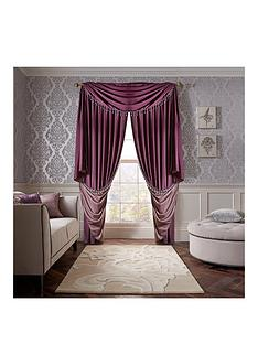 laurence-llewelyn-bowen-grande-finale-faux-silk-slot-top-lined-curtains
