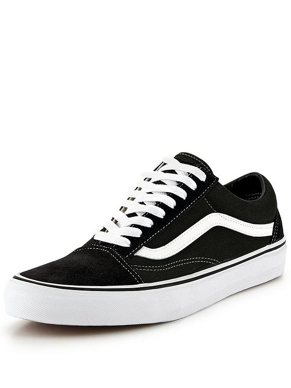ccd62545eb96 Vans Old Skool - Black/White | very.co.uk