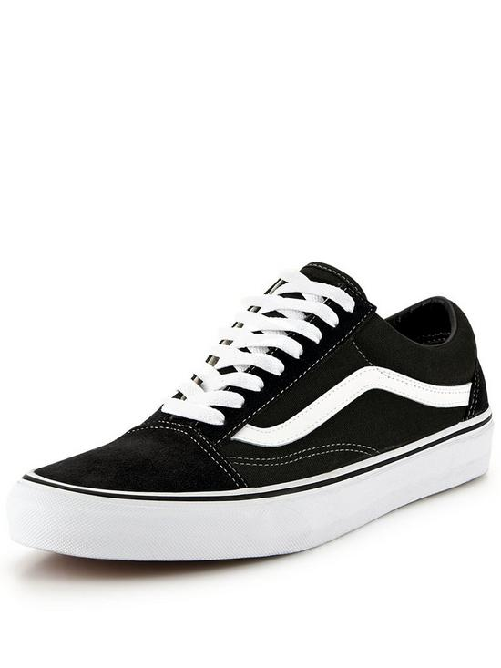 black old school vans